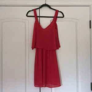 NWOT coral dress